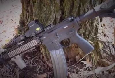 Gun Review: The new Springfield M1A SOCOM 16   Gun Review Videos
